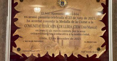 Medalla de la Ciutat per al nostre Col·legi-CIEM